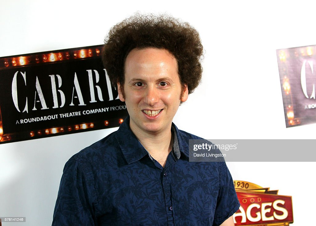 Actor Josh Sussman arrives at the opening of 'Cabaret' at the Pantages Theatre on July 20 2016 in Hollywood California