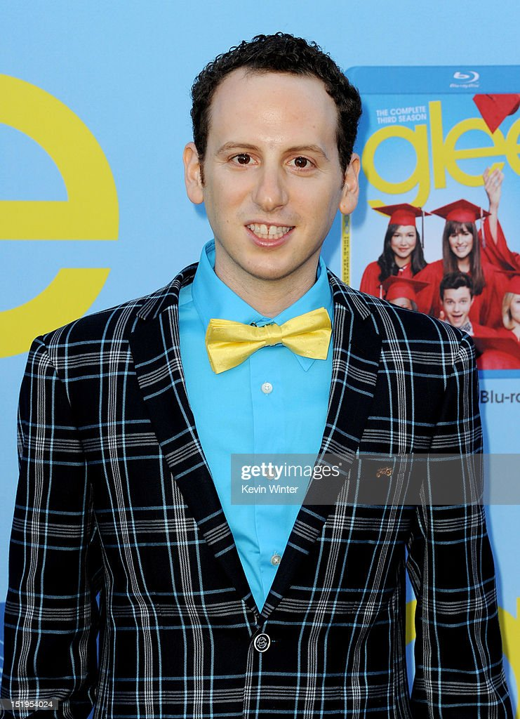 Actor Josh Sussman arrives at the premiere of Fox Television's 'Glee' at Paramount Studios on September 12 2012 in Los Angeles California