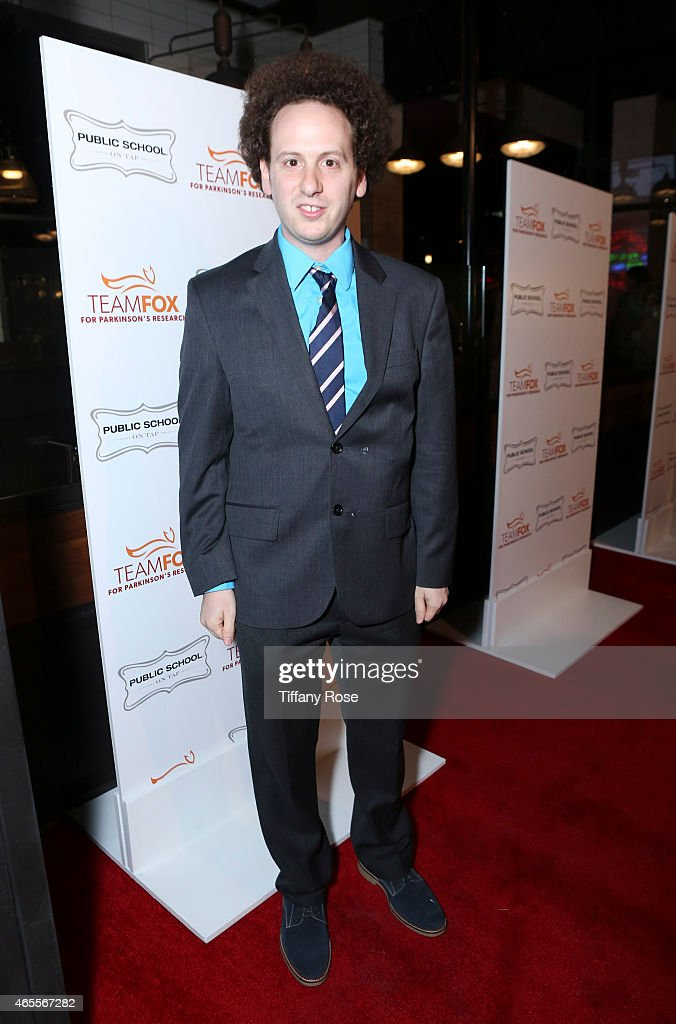 Actor Josh Sussman attends Raising The Bar To End Parkinson's at Public School 818 on March 7 2015 in Sherman Oaks California