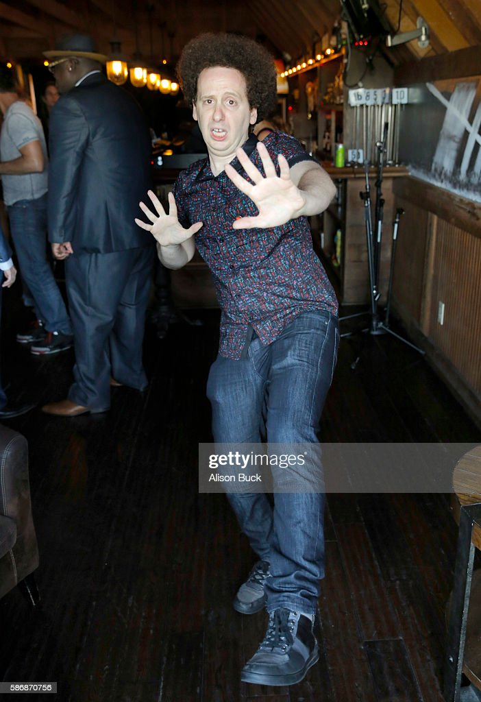 Actor Josh Sussman attends Syfy's '2 LAVA 2 LANTULA' premiere at State Social House on August 6 2016 in West Hollywood California