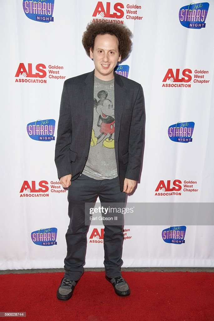Actor Josh Sussman attends the 3rd Annual ONE STARRY NIGHT A Special Performand Dedicated To Conquering ALS at Pasadena Playhouse on August 15 2016...