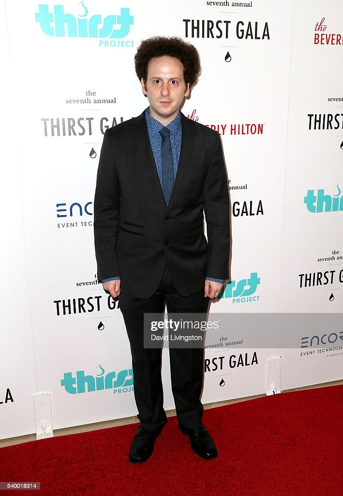 Actor Josh Sussman attends the 7th Annual Thirst Gala at The Beverly Hilton Hotel on June 13 2016 in Beverly Hills California