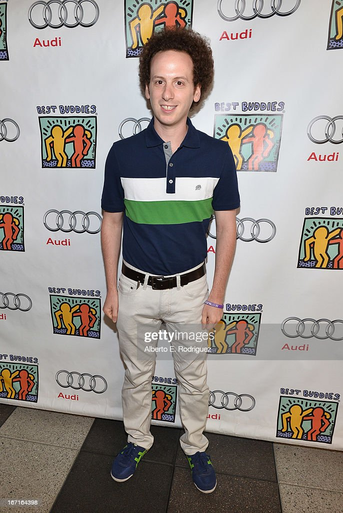 Actor Josh Sussman attends the Best Buddies' Bowling For Buddies Event at Lucky Strike Lanes at LA Live on April 21 2013 in Los Angeles California