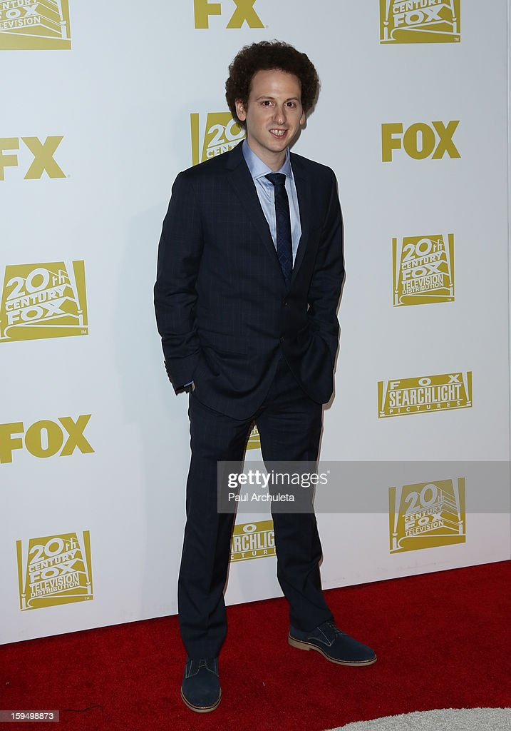 Actor <a gi-track='captionPersonalityLinkClicked' href=/galleries/search?phrase=Josh+Sussman&family=editorial&specificpeople=5756661 ng-click='$event.stopPropagation()'>Josh Sussman</a> attends the FOX after party for the 70th Golden Globes award show at The Beverly Hilton Hotel on January 13, 2013 in Beverly Hills, California.
