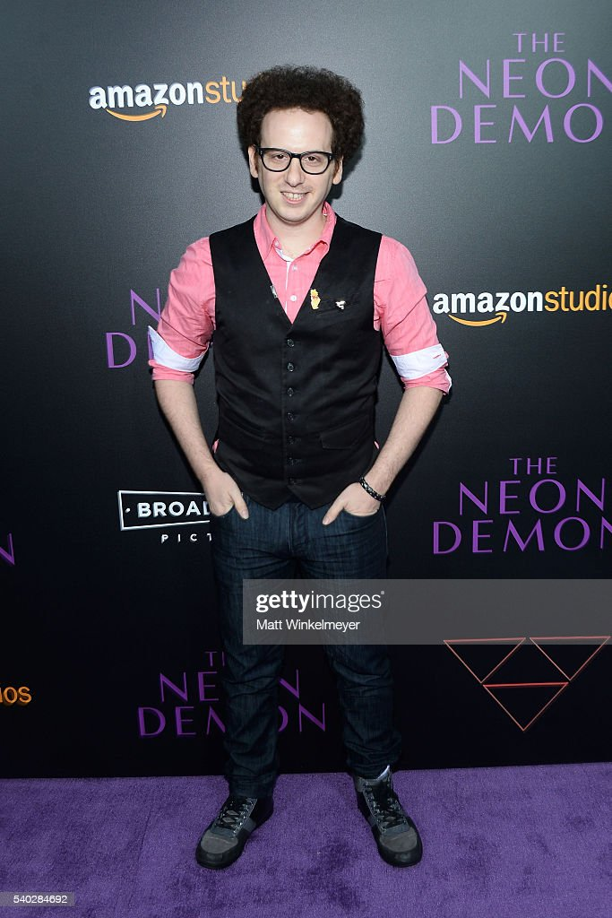Actor Josh Sussman attends the premiere of Amazon's 'The Neon Demon' at ArcLight Cinemas Cinerama Dome on June 14 2016 in Hollywood California