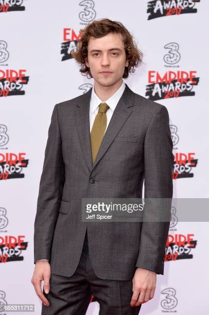 Actor Josh Whitehouse attends the THREE Empire awards at The Roundhouse on March 19 2017 in London England