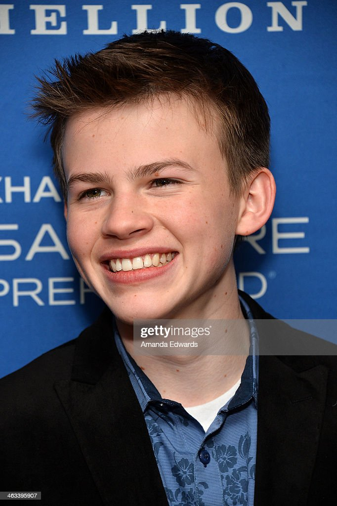 Actor Josh Wiggins arrives at the 'Hellion' premiere party at Chase Sapphire on January 17, 2014 in Park City, Utah.