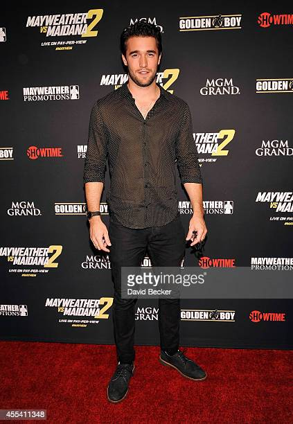 Actor Joshua Bowman arrives at Showtime's VIP prefight party for 'Mayhem Mayweather vs Maidana 2' at the MGM Grand Garden Arena on September 13 2014...