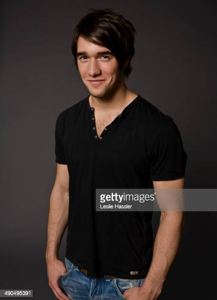 Actor Joshua Bowman is photographed for Self Assignment in August 2012 in New York City