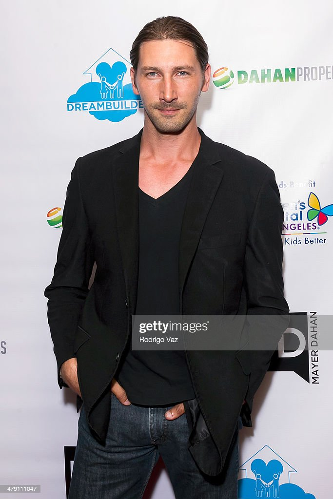 Actor Joshua Fredric Smith attends The Dream Builders Project 'A Brighter Future For Children' at H.O.M.E. on March 15, 2014 in Beverly Hills, California.