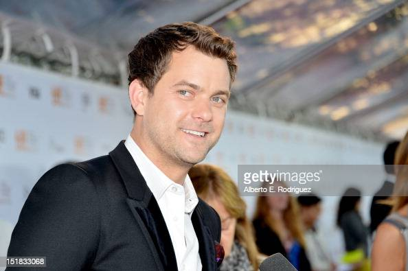 Actor Joshua Jackson arrives at the 'Inescapable' Premiere during the 2012 Toronto International Film Festival at Roy Thomson Hall on September 11...
