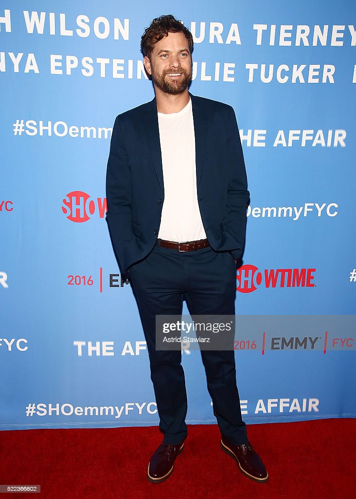 Actor Joshua Jackson attends 'The Affair' New York screening at NYIT Auditorium on Broadway on April 18, 2016 in New York City.