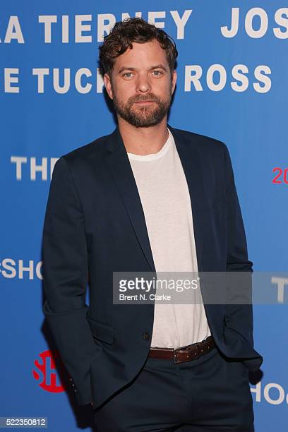 Actor Joshua Jackson attends 'The Affair' New York screening held at the NYIT Auditorium on Broadway on April 18 2016 in New York City