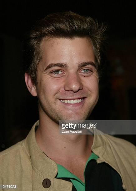 Actor Joshua Jackson attends the Premiere Magazine party during the 2003 Toronto International Film Festival at Prego September 7 2003 in Toronto...