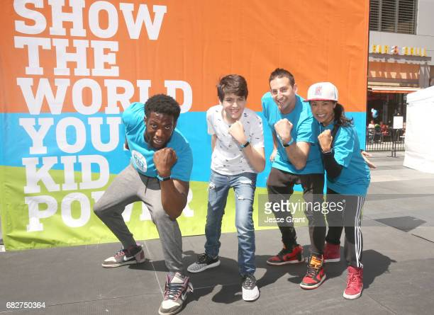 Actor Joshua Rush at UNICEF Kid Power Los Angeles event at Microsoft Square on May 13 2017 in Los Angeles California