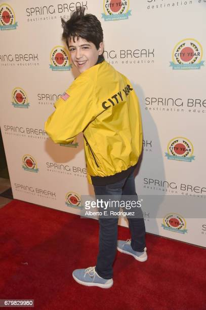 Actor Joshua Rush attends City Year Los Angeles Spring Break on May 6 2017 in Los Angeles California
