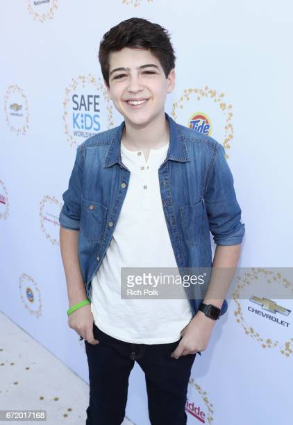 Actor Joshua Rush attends Safe Kids Day 2017 at Smashbox Studios on April 23 2017 in Culver City California