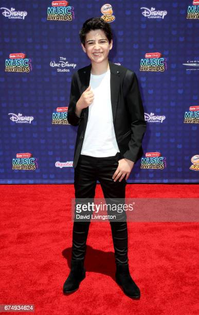 Actor Joshua Rush attends the 2017 Radio Disney Music Awards at Microsoft Theater on April 29 2017 in Los Angeles California