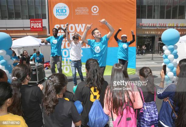 Actor Joshua Rush onstage at UNICEF Kid Power Los Angeles event at Microsoft Square on May 13 2017 in Los Angeles California