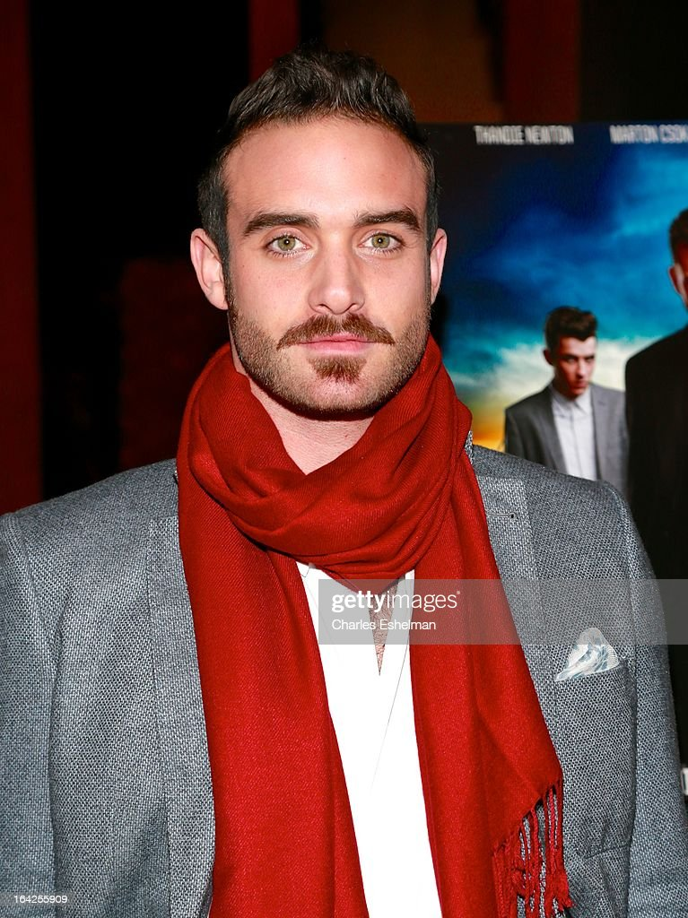 Actor Joshua Sasse attends the 'Rogue' premiere at the Tribeca Grand Hotel - Screening Room on March 21, 2013 in New York City.