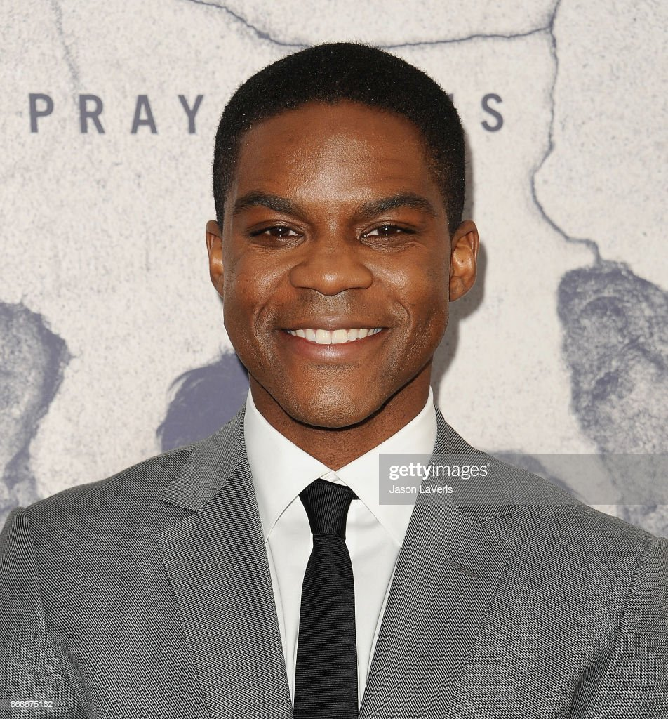 Actor Jovan Adepo attends the season 3 premiere of 'The Leftovers' at Avalon Hollywood on April 4, 2017 in Los Angeles, California.