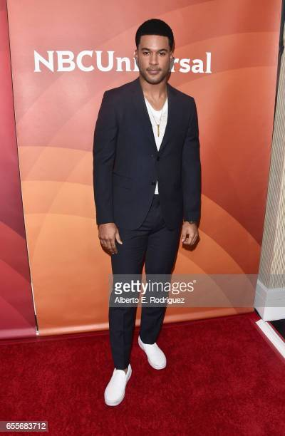 Actor JR Lemon from the show 'The Night Shift' attends the 2017 NBCUniversal Summer Press Day at The Beverly Hilton Hotel on March 20 2017 in Beverly...