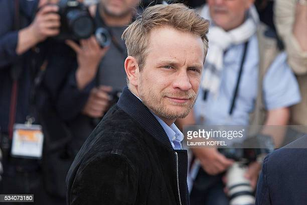 Actor Jérémie Renier attends 'The Unknown Girl ' Photocall during the 69th annual Cannes Film Festival at the Palais des Festivals on May 18 2016 in...