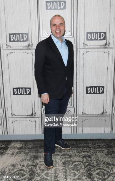 Actor JT Rogers attends Build Series to discuss his play 'Oslo' at Build Studio on May 17 2017 in New York City