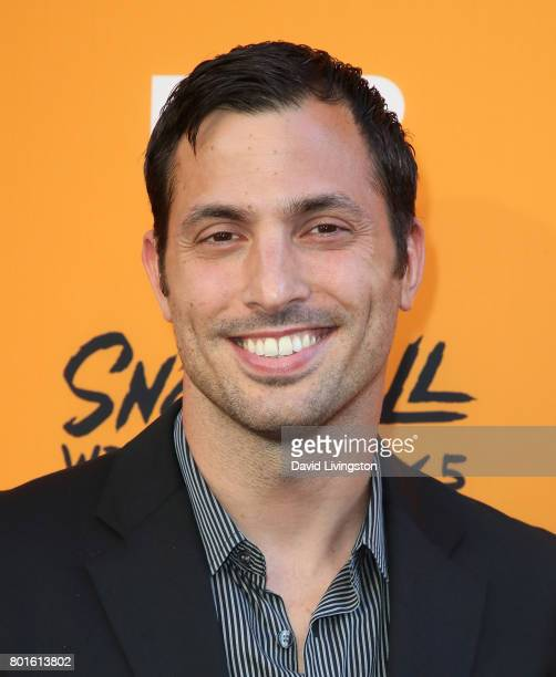 Actor Juan Javier Cardenas attends the premiere of FX's 'Snowfall' at The Theatre at Ace Hotel on June 26 2017 in Los Angeles California