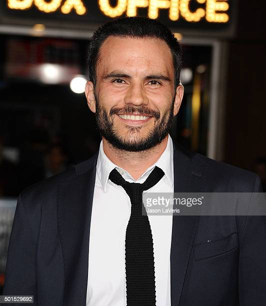 Actor Juan Pablo Raba attends the premiere of 'Point Break' at TCL Chinese Theatre on December 15 2015 in Hollywood California
