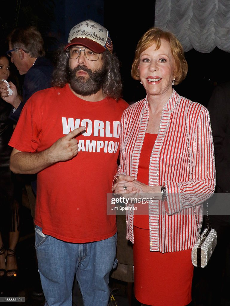 Actor Judah Friedlander and actress/comedian Carol Burnett attend the after party for 'The Carol Burnett Show The Lost Episodes' screening hosted by...