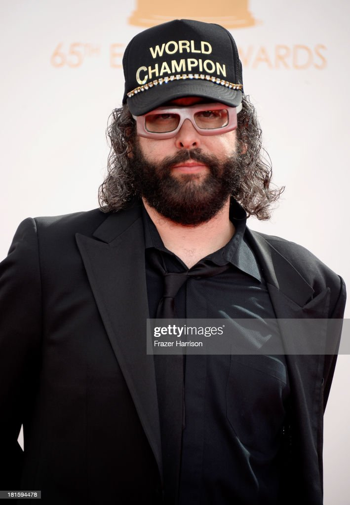 Actor Judah Friedlander arrives at the 65th Annual Primetime Emmy Awards held at Nokia Theatre LA Live on September 22 2013 in Los Angeles California