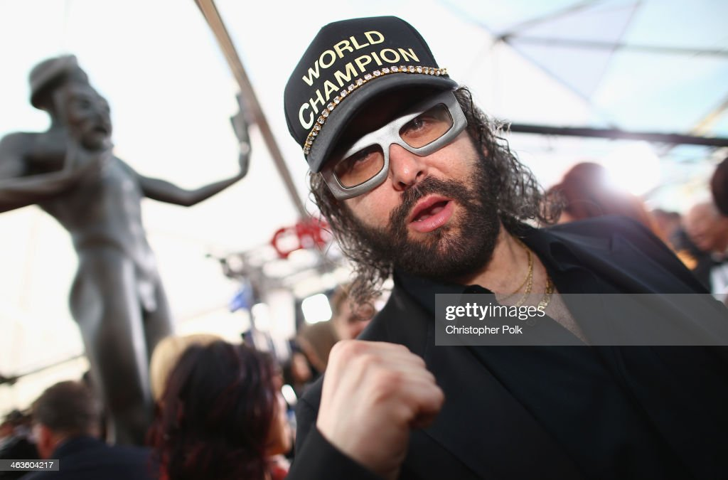 Actor Judah Friedlander attends 20th Annual Screen Actors Guild Awards at The Shrine Auditorium on January 18 2014 in Los Angeles California