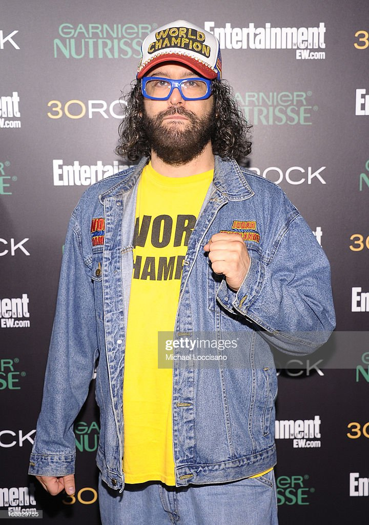 Actor Judah Friedlander attends Entertainment Weekly and NBC's celebration of the final season of 30 Rock sponsored by Garnier Nutrisse on October 3, 2012 in New York City.