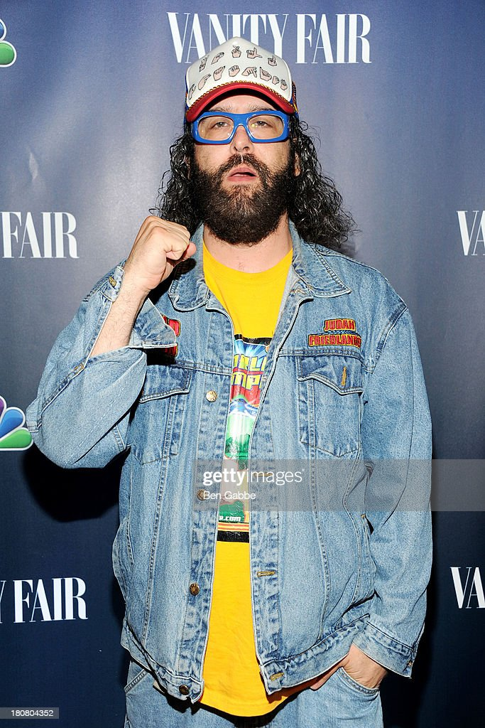 Actor <a gi-track='captionPersonalityLinkClicked' href=/galleries/search?phrase=Judah+Friedlander&family=editorial&specificpeople=666026 ng-click='$event.stopPropagation()'>Judah Friedlander</a> attends NBC's 2013 Fall Launch Party Hosted By Vanity Fair at The Standard Hotel on September 16, 2013 in New York City.