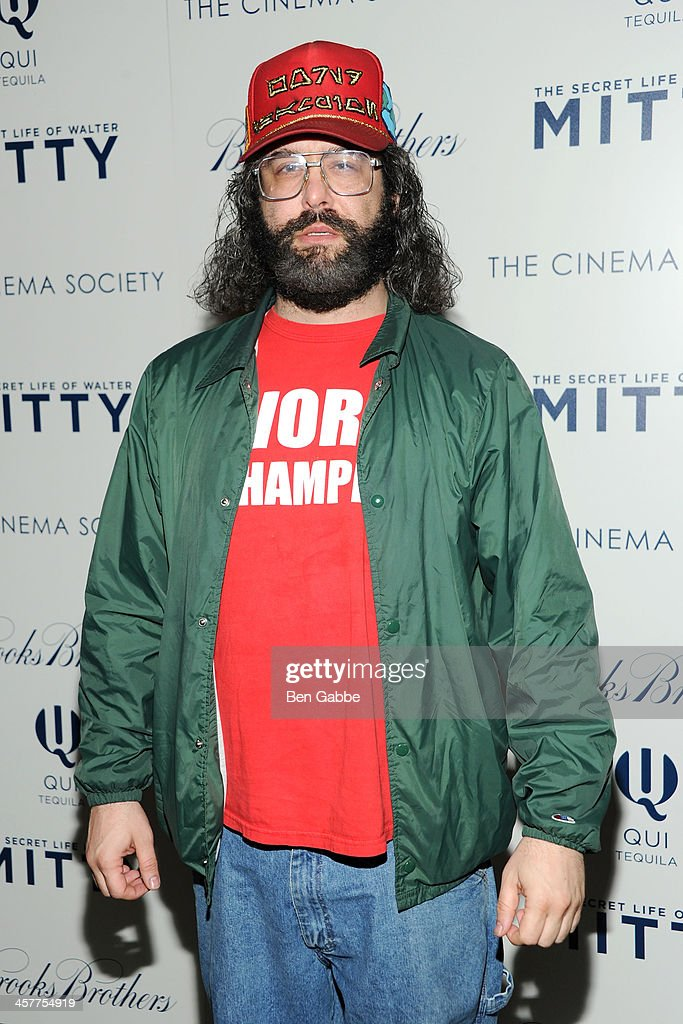 Actor <a gi-track='captionPersonalityLinkClicked' href=/galleries/search?phrase=Judah+Friedlander&family=editorial&specificpeople=666026 ng-click='$event.stopPropagation()'>Judah Friedlander</a> attends the 20th Century Fox with The Cinema Society & Brooks Brothers screening of 'The Secret Life of Walter Mitty' at The Museum of Modern Art on December 18, 2013 in New York City.