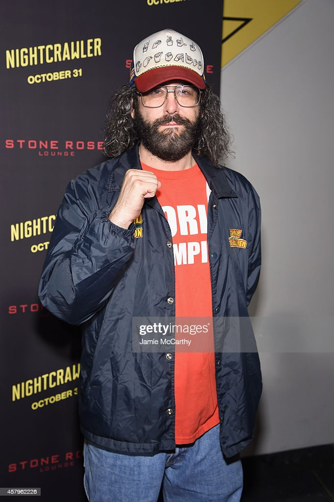 Actor Judah Friedlander attends the 'Nightcrawler' New York Premiere at AMC Lincoln Square Theater on October 27 2014 in New York City