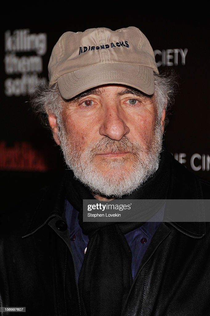 Actor Judd Hirsch attends The Cinema Society with Men's Health and DeLeon hosted screening of The Weinstein Company's 'Killing Them Softly' on November 26, 2012 in New York City.