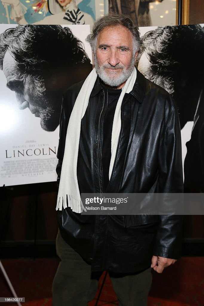 Actor Judd Hirsch attends the special screening of Steven Spielberg's 'Lincoln' at the Ziegfeld Theatre on November 14, 2012 in New York City.