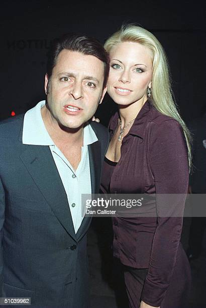 Actor Judd Nelson And Date Attend The Vanity Fair/Ermengildo Zegna 'Cast Your Ballot' Party March 17 1999 In Beverly Hills Ca