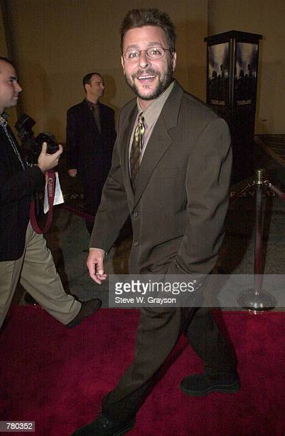 Actor Judd Nelson poses for photographers at the premiere of Twentieth Century Fox's 'Tigerland' at The Zanuck Theater October 3 2000 in Los Angeles...