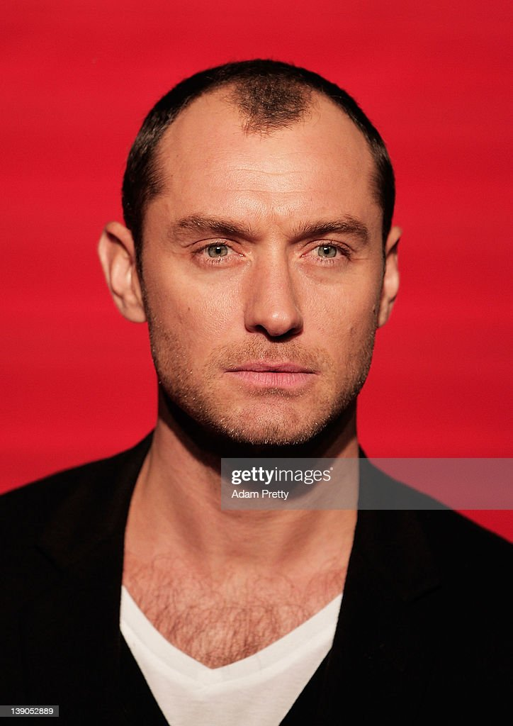 Actor <a gi-track='captionPersonalityLinkClicked' href=/galleries/search?phrase=Jude+Law&family=editorial&specificpeople=156401 ng-click='$event.stopPropagation()'>Jude Law</a> attends the 'Sherlock Holmes: A Game of Shadows' Japan Premiere at Roppongi Hills on February 16, 2012 in Tokyo, Japan. The film will open on March 10 in Japan.