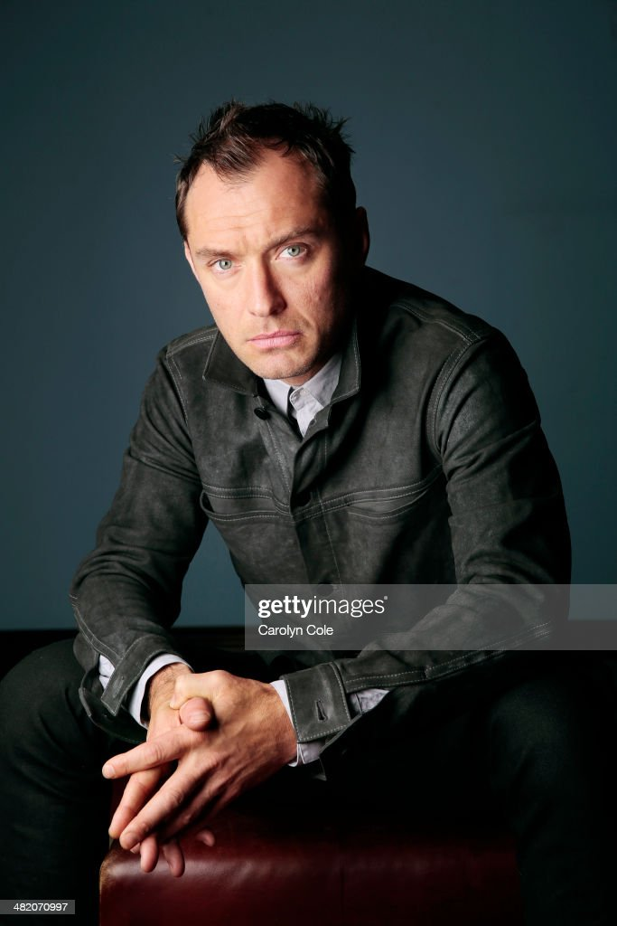 Actor <a gi-track='captionPersonalityLinkClicked' href=/galleries/search?phrase=Jude+Law&family=editorial&specificpeople=156401 ng-click='$event.stopPropagation()'>Jude Law</a> is photographed for Los Angeles Times on March 25, 2014 in New York City. PUBLISHED IMAGE.