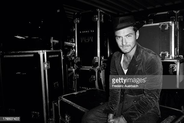 Actor Jude Law is photographed for Paris Match on September 1 2010 in Paris France PUBLISHED IMAGE