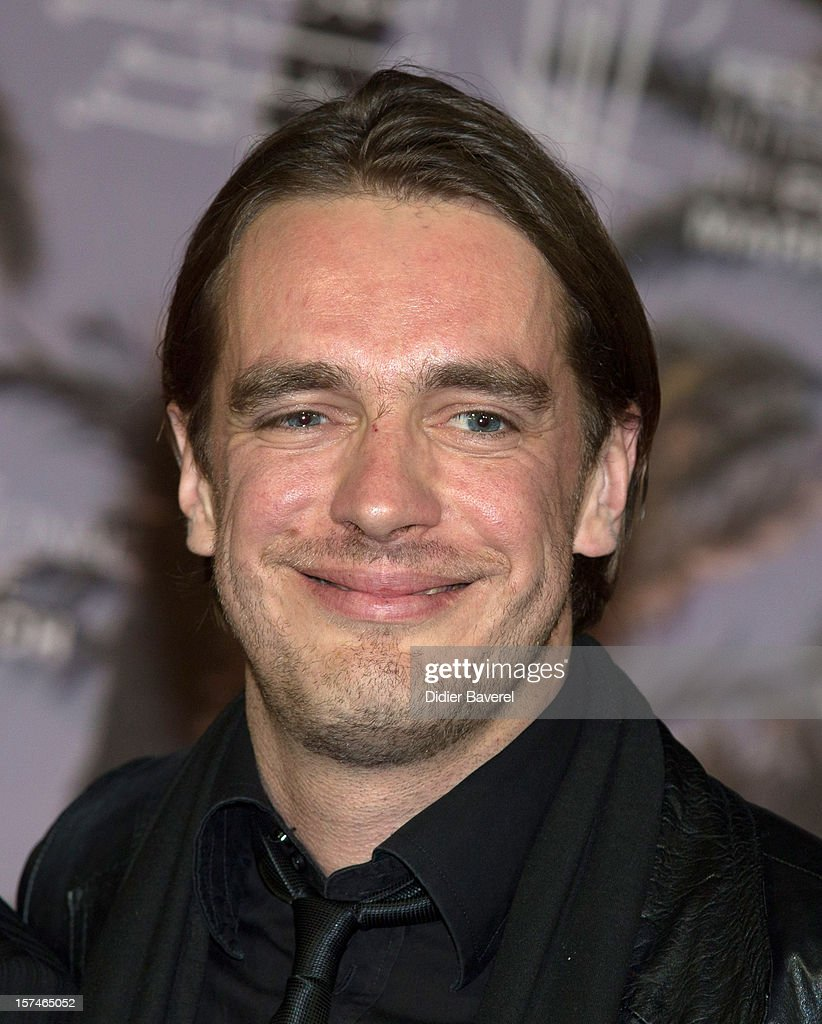 Actor Juhan Ulfsak poses during a photocall of the movie ' Mushrooming' at the 12th International Marrakech Film Festival on December 3, 2012 in Marrakech, Morocco.