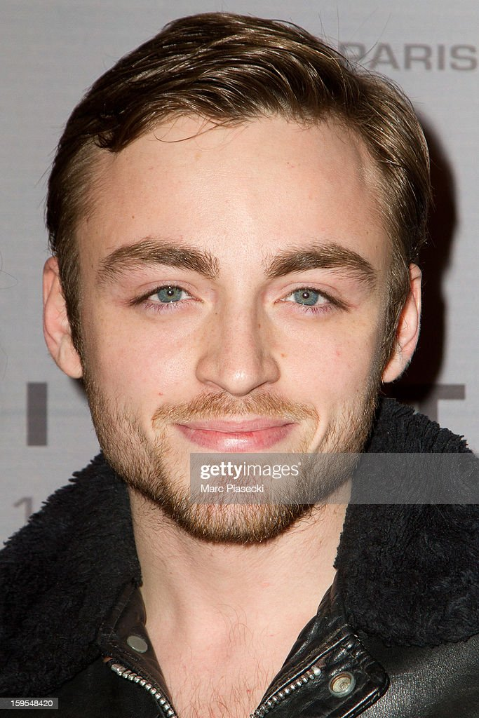 Actor Jules Pelissier attends the 'Flight' Paris Premiere at Cinema Gaumont Marignan on January 15, 2013 in Paris, France.