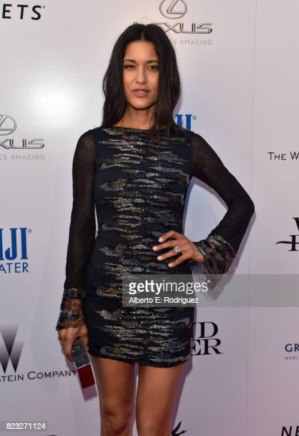 Actor Julia Jones attends the premiere of The Weinstein Company's 'Wind River' at The Theatre at Ace Hotel on July 26 2017 in Los Angeles California