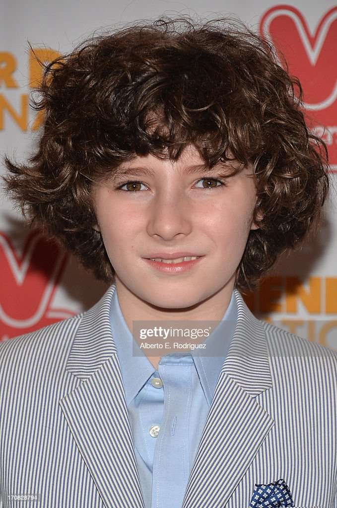 Actor Julian Feder arrives to the Premiere of 'Wiener Dog Nationals' at Pacific Theatre at The Grove on June 18, 2013 in Los Angeles, California.