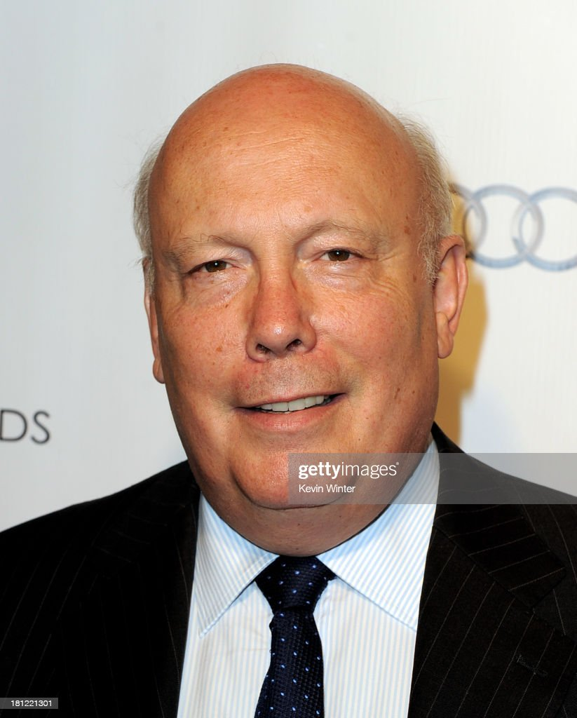 Actor <a gi-track='captionPersonalityLinkClicked' href=/galleries/search?phrase=Julian+Fellowes&family=editorial&specificpeople=224703 ng-click='$event.stopPropagation()'>Julian Fellowes</a> arrives at the 65th Primetime Emmy Awards Writer Nominees reception at the Academy of Television Arts & Sciences on September 19, 2013 in No. Hollywood, California.