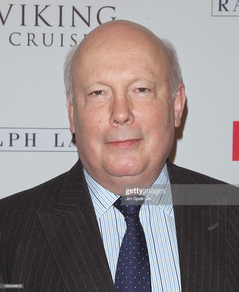 Actor <a gi-track='captionPersonalityLinkClicked' href=/galleries/search?phrase=Julian+Fellowes&family=editorial&specificpeople=224703 ng-click='$event.stopPropagation()'>Julian Fellowes</a> attends 'Downton Abbey' Season Four cast photo call at Millenium Hotel on December 10, 2013 in New York City.
